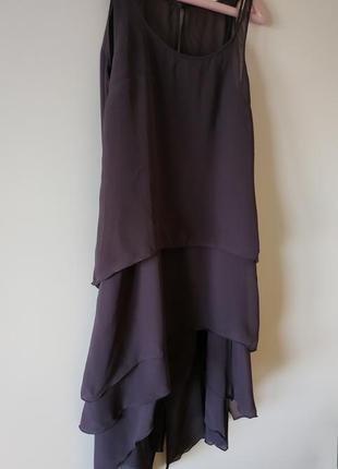 Платье karl lagerfeld pour h&m шовкове плаття silk mid-lenght dress
