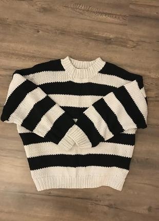 Крутой оверсайз свитер h&m