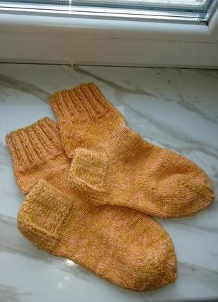Носки женские ручной работы