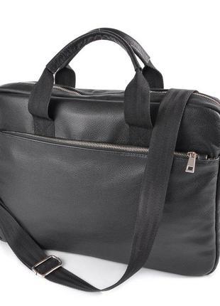 Кожаная мужская сумка портфель для документов