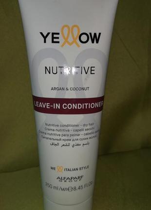 Yellow leave-in conditioner - несмываемый кондиционер 250 мл.