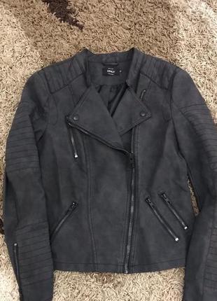 Новая трендовая куртка косуха s-m