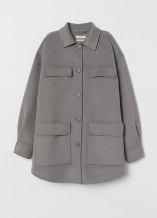 Рубашка-пальто от h&m