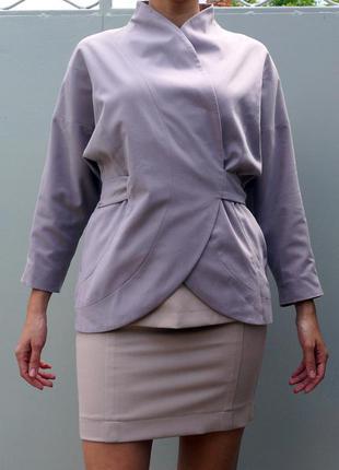 Жакет или пиджак на запах от украинского дизайнера ольги громовой