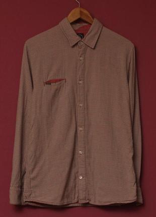 Volcom рр s-m shirt рубашка из хлопка