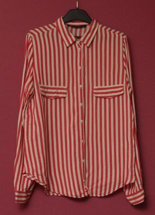 Zara рр m блуза из вискозы