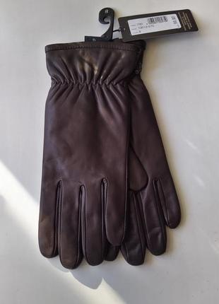 Новые перчатки roeckl утеплённые мужские 100% кожа размер 8