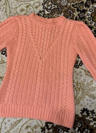 Вязаный свитер,свитер ,красивый свитер турция