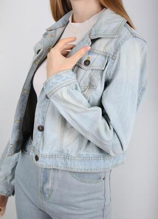 Джинсовка джинсовая куртка f&f