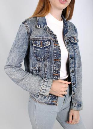 Джинсовка жакет джинсовая куртка denim co 1969