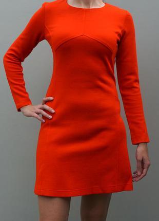 Морковное платье от украинской тм vilonna