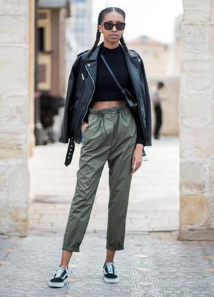 Vip! италия!роскошные оливковые 100% кожаные мягкие брюки/ брюки/штаны/джинсы