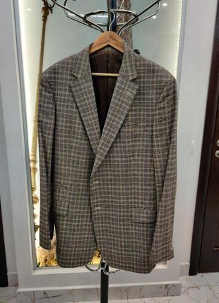 Пиджак мужской шерсть ,56 размера