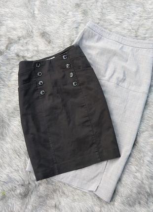 Юбка черного цвета h&m
