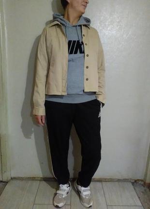 Пиджак, жакет,куртка женская,рубашка,джинсовка,хлопок, бежевая,нюд,светлая