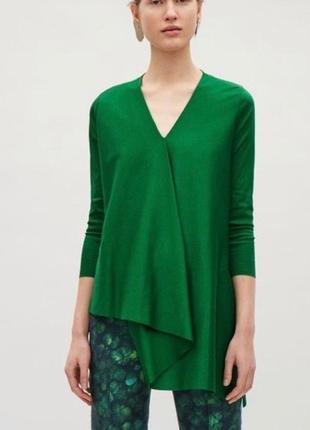 Cos блуза кофта оригинал ассиметричная