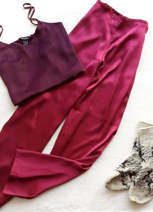 Пижама (брюки) атласная la senza