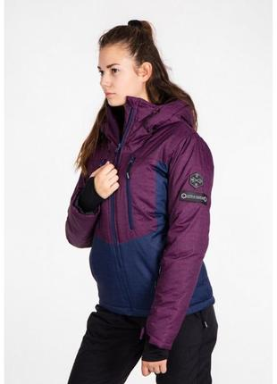 Горнолыжная куртка женская just play лыжная, термо куртка