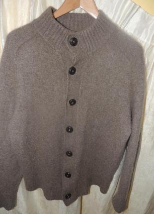 Очень теплый кашемировый свитер-джемпер cashmere из 100% кашемира хл