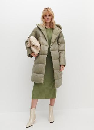 Пальто reserved под пуховик