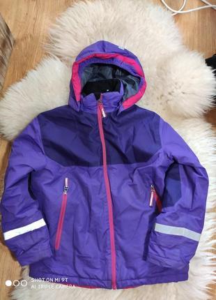 Лыжная куртка 140 размер