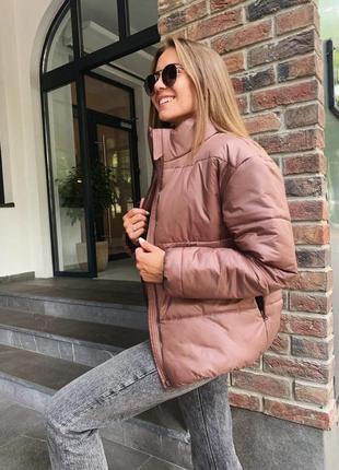 Красива стильна куртка на синтепоні