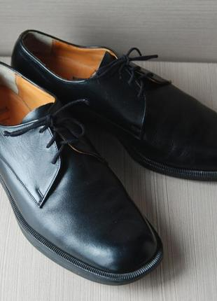Мужские кожаные туфли salamander оригинал винтаж стелька 27 см