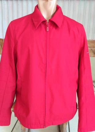 Esprit. красная ветровка, демисезонная куртка