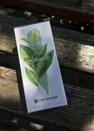 Туалетная вода зеленый чай 100мл ив роше
