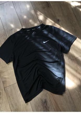 Жіноча спортивна футболка nike running dri-fit оригінал розмір хл