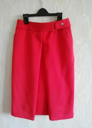 Эффектная юбка с завышенной линией талии, р. xs-s