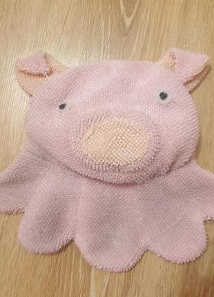 Бесплатно мочалка свинка
