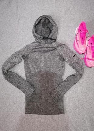 Шикарний термо реглан nike найк термуха для бігу для спорту