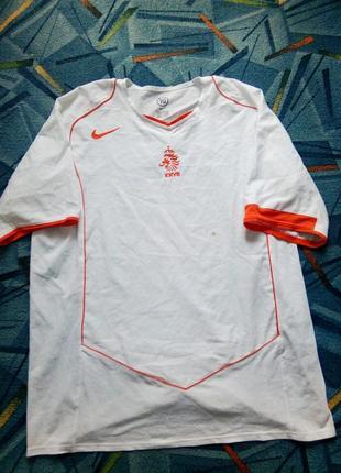 Футбольная футболка nike niderland