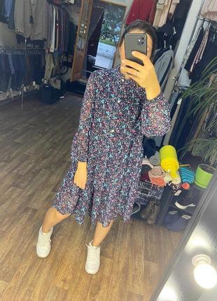 Шифоновое платье от azuri