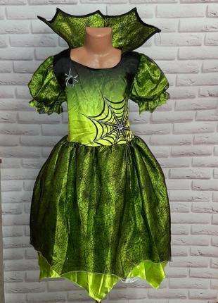 Карнавальное новогоднее  на хеллоуин платье