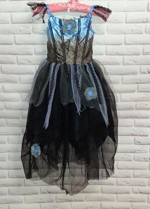 Платье  на хеллоуин карнавальное платье