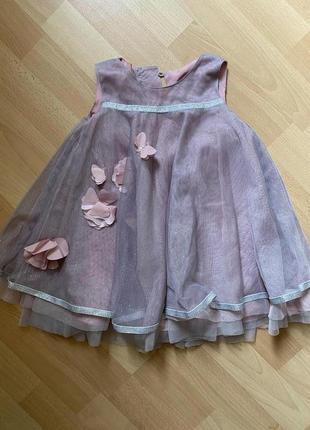Фатиновое платье на девочку monsoon