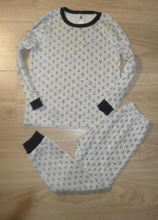 Пижама теплая на 5-6лет рост 116