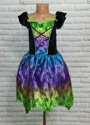 Платье на хеллоуин новогоднее сказочное нарядное