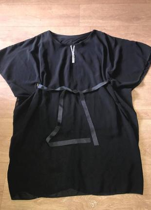 Свободная туника/удлиненная блуза
