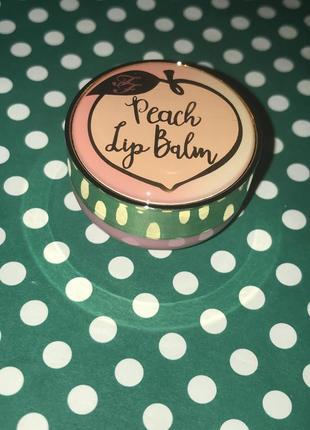 Бальзам для губ too faced peach lip balm