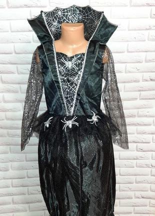Платье на хеллоуин новогоднее карнавальное