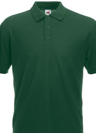 Новые мужские футболки поло l в зелёном цвете