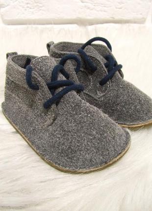 Замшевые пинетки кроссовки кеды ботинки  next