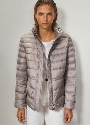 Massimo dutti стеганная куртка на пуху ,оригинал