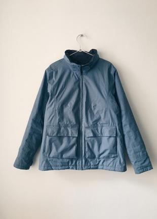 Мембранная водонепроницаемая куртка regatta голубая ветрозащитная куртка с капюшоном