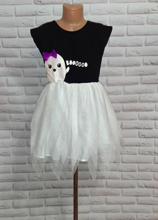 Платье ф,нм  привидение на хеллоуин карнавальное платье