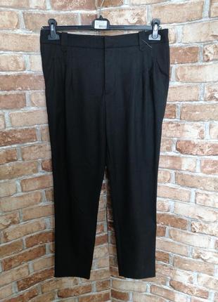 Осенние брюки с защипами