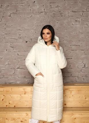 Акция!!!! модная удлиненная зимняя куртка